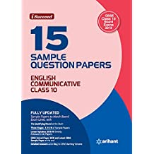 15 Sample Question Papers English Communicative Class 10th CBSE