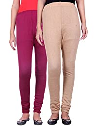 Belmarsh Warm Leggings - Pack of 2 (Mouve_Skin)