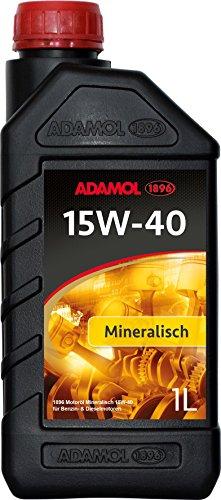 adamol 189601180139Minéral isches motorenöl 15W pas cher