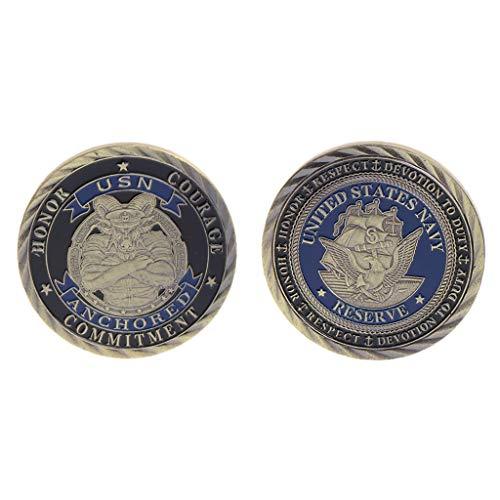 AIYIYOO Gedenkmünze US Marine Collection Geschenke Souvenir Crafts Arts Bitcoin BTC, Münzensammler, Genießen Sie die Freude an der Sammlung, Sie verdienen es