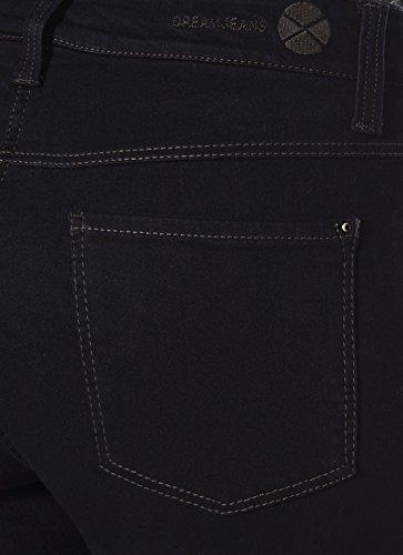 Mac Dream–Jeans Coupe Droite–Rince Bleu foncé