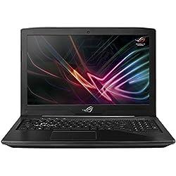 "Asus ROG GL503VD-GZ255T PC portable Gamer 15"" Full HD Noir (Intel Core i7, 8 Go de RAM, Disque Dur 1 To + SSD 128 Go, Nvidia GeForce GTX 1050 4G, Windows 10) Clavier Français AZERTY"