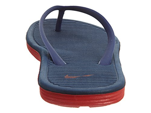 Nike Wmns Solarsoft Thong 2, Tongs Femme Bleu - Azul (Loyal Blue / University Red)