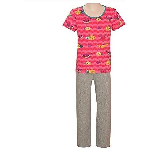 crayonflakes Bambini indossare per le ragazze cotone rosa grigio notte