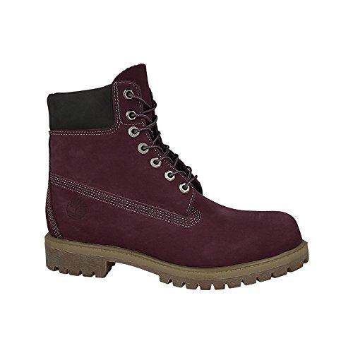Timberland 6in premium boot, Boots homme Dark Red Nubuck