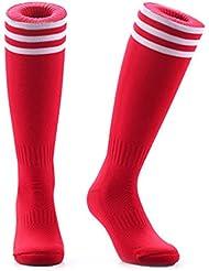 Samson calcetines de fútbol diseño a rayas medias tamaño grande interior de lana para diseño de rayas para hombre para mujer HOCKEY UNISEX RUGBY
