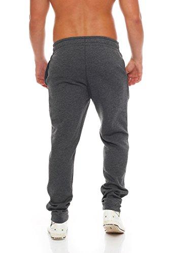 JACK & JONES - Pantalon - Tapered - Uni - Homme Noir chiné