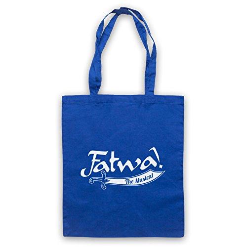 Inspiriert durch Curb Your Enthusiasm Fatwa The Musical Inoffiziell Umhangetaschen Blau
