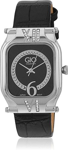 Gio Collection Analog Grey Dial Women's Watch - G0038-02 image