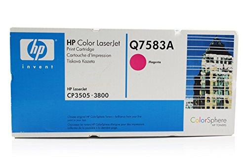 HP Color LaserJet CP 3505 XH - Original HP / Q7583A Toner Magenta - 6000 pages -