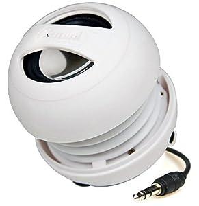 X-Mi X Mini II Capsule-Lautsprecher der 2. Generation für iPhone / iPad 2/3 / iPod / MP3 / Laptop