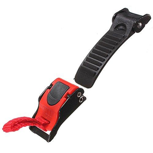FADDR Motorrad Schnellverschluss Helmverschluss Kinnriemenschnalle, Schnellverschluss-Trennung Clipschnalle für Motorrad ATV(1PC)