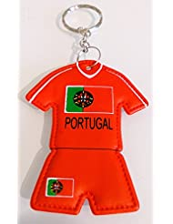 Porte clés Maillot PORTUGAL Rouge
