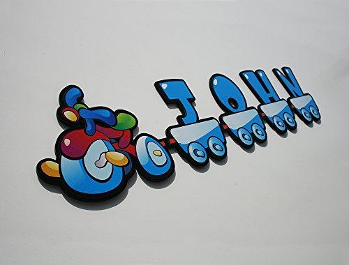 kids-tricycle-boy-letters-nursery-baby-room-custom-name-personal-door-sign