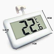 Snner Termómetro del Refrigerador Mini LCD Digital Resistente Al Agua Nevera Congelador Termómetro Monitor Portátil De