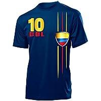 love-all-my-shirts FUSSBALL WM 2018 - KOLUMBIEN FANSHIRT - Herren T-Shirt Gr.S bis XXL - Golebros