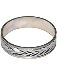 NPRC Super Stylish Silver Color Alloy Finger Rings (1.9 CM)