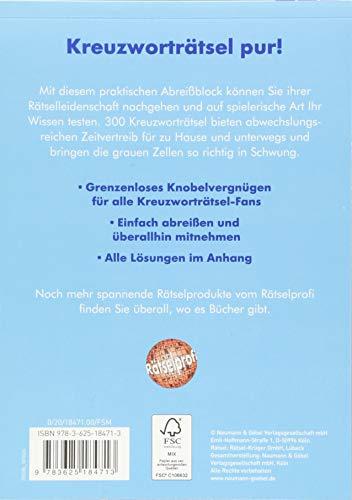 Der dicke Kreuzworträtsel-Block Band 29: 300 knifflige Rätsel für immer und überall: Alle Infos bei Amazon