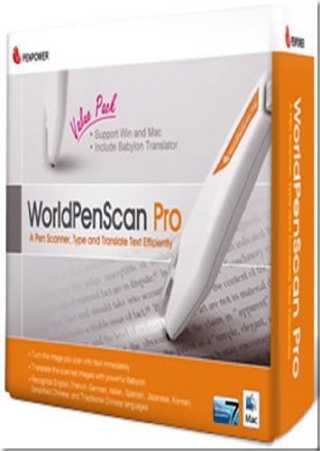 Visitenkarten scanner-PenPower WorldCard Mac Plus(for Mac & PC )