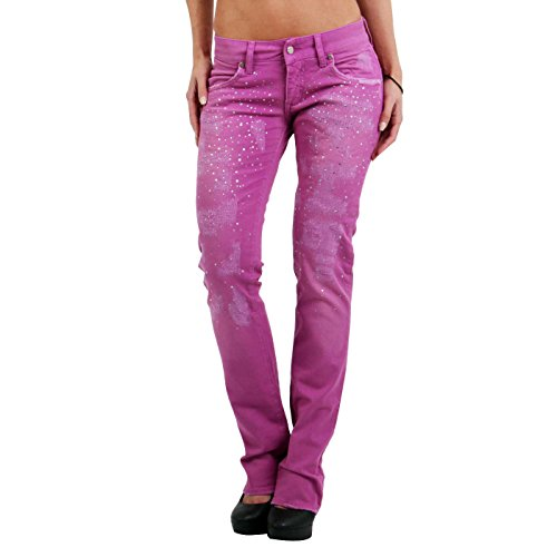 MET -  Jeans  - Donna porpora W28