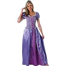 erdbeerloft–Disfraz de mujer Rapunzel, Princesa, disfraz de Disney, disfraz de mujer, 36–40, Púrpura
