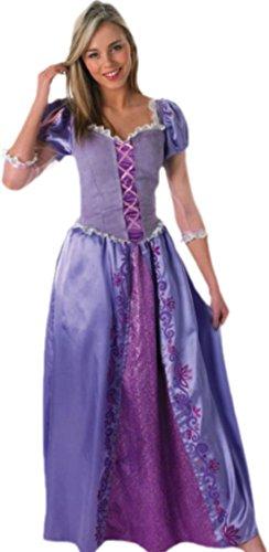 erdbeerloft - Damen Rapunzel-Kostüm, Prinzessin, Disney-Kostüm, Damenkostüm, 36, (Erwachsene Prinzessin Kleid Für Disney)