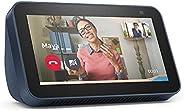 Nuovo Echo Show 5 (2ª generazione, modello 2021) | Schermo intelligente con Alexa e telecamera da 2 MP | Blu n