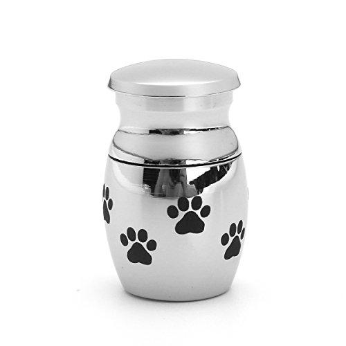 KINGDUO Haustier Haus Hund Katze Klein Pet Tier Verfeuerung Urn Welpe Pfoten