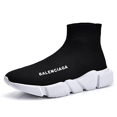 QIDI Freizeitschuhe Männlich Schwarz Fuß Setzen Bequem Liebhaber Schuhe Wanderschuhe (Größe : EU39/UK6)
