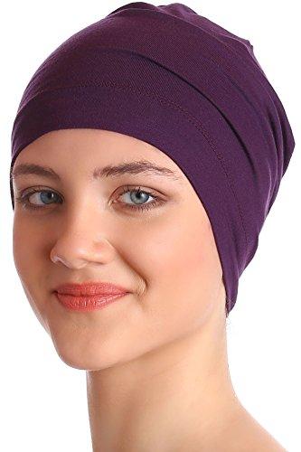 Deresina Headwear Sleep Caps (Maulbeere) - Männer Cap Schlafen