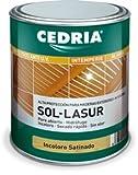 CEDRIA SOL LASUR SATINADO 4 L