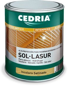 CEDRIA Sol Lasur Incoloro Brillante 750 ml