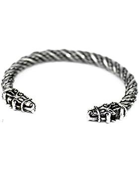 Kleines Pferde Armband im Wikinger Stil - Odins Sleipnir - aus Hartzinn