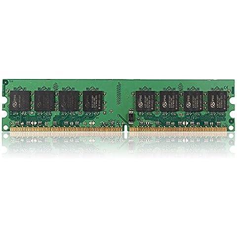 1GB DDR2-533 PC2-4200 Non-ECC Desktop PC DIMM di memoria RAM
