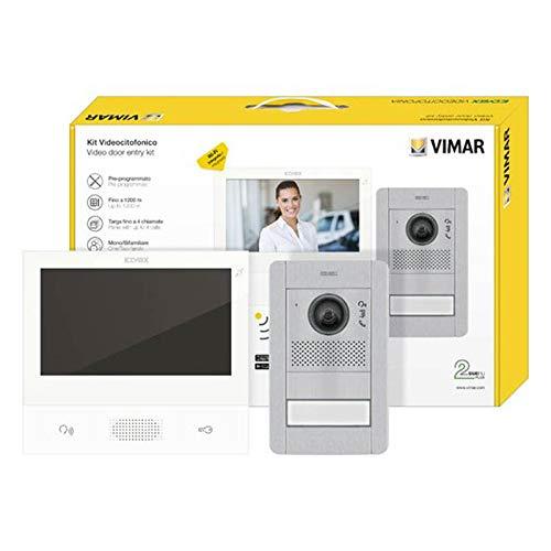 Video Türsprechanlage  Smartphone APP  Touchscreen 7 Zoll Monitor  HD-Display  2-Draht-Technik  36 Monate Garantie