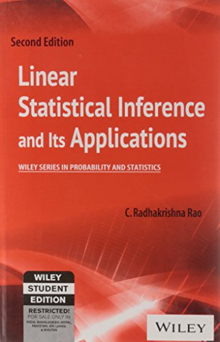 Linear Statistical Inference and its Applications, 2ed