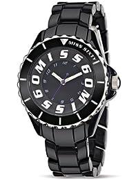 Miss Sixty Damen-Armbanduhr Glitter Analog Resin SHU003