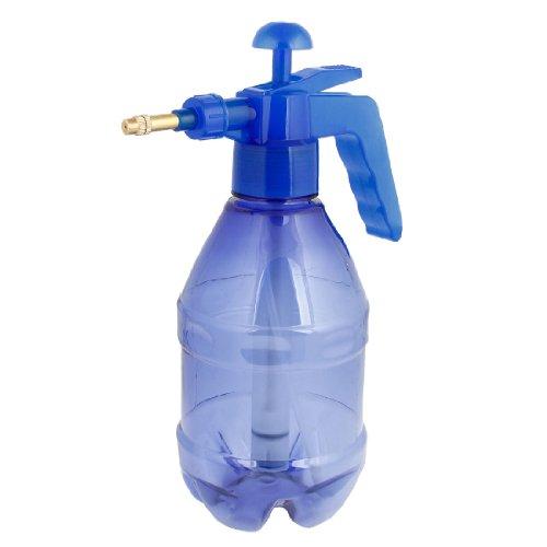 sourcingmap® 1,2 L Bleu Anse Corps Plastique Spray Bouteille Pulvérisateur D'eau
