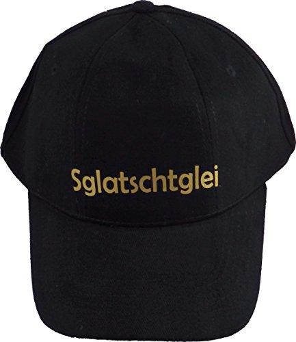 Preisvergleich Produktbild Basecap Sglatschtglei schwarz