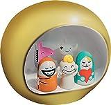 Alessi Presepe Krippe Gruppe aus Porzellan, Handdekoriert, gold