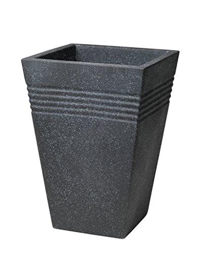 stewart-square-piazza-tall-planter-granite-effect-35-cm
