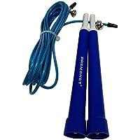 Bremshey 17AMZFU181 Cuerda de Saltar para Crossfit, Unisex Adulto, Azul, One Size