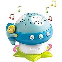#0618 Musikmobile Deckenprojektor Musik-Pilz mit 4 Melodien Blau • Lichtprojektor Einschlafhilfe Babybett Spieluhr Baby Spielzeug preisvergleich bei kleinkindspielzeugpreise.eu