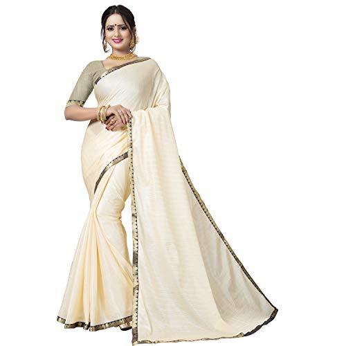 Being Banarasi Women's Poly Silk Saree with ...