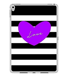 ifasho Designer Back Case Cover for Apple iPad Pro 9.7 Inches :: Apple iPad Pro Wi-Fi + Cellular (3G/LTE) 9.7 Inches :: Apple iPad Pro Wi-Fi (Wi-Fi) (Love Design Love And Love Only Love Express Love Key Chains For Couples)
