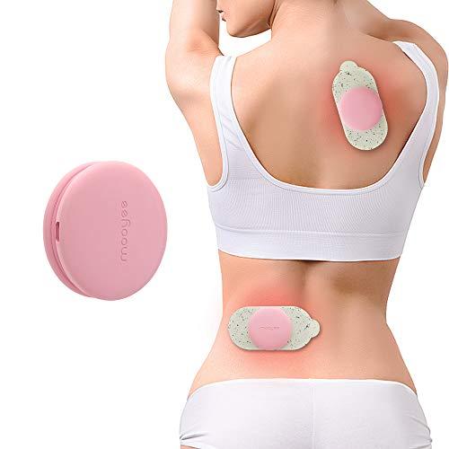 MOOYEE Muskelstimulationsgeräte Rücken Massagegerät Drahtlose EMS Muskelstimulator für Nacken/Schulter/Beine/Arme Massage Wiederaufladbare Massagegerät Smartphone-Steuerung