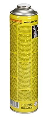 Rothenberger Industrial - Maxigas 400 - Brenngas-Kartusche - Spezialgasmischung - 600ml - 35570