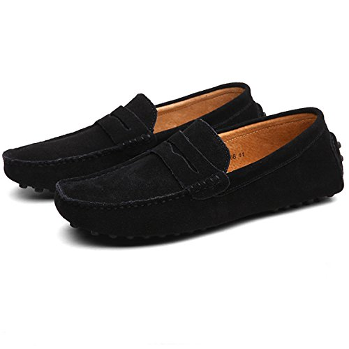 Hishoes, Mocassini uomo Nero