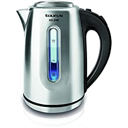 Taurus Selene - Hervidor de agua (2200 W, 1,7 litros), gris