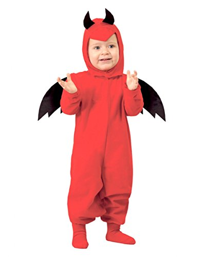 Teufelkostüm für Kleinkinder 6-12 (Mama Papa Halloween Kostüme Und)